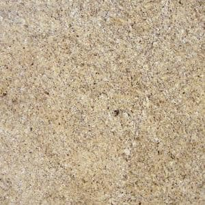3 in. x 3 in. Granite Countertop Sample in New Venetian Gold