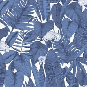 Tropical Blue Peel and Stick Wallpaper (Covers 28 sq. ft.)