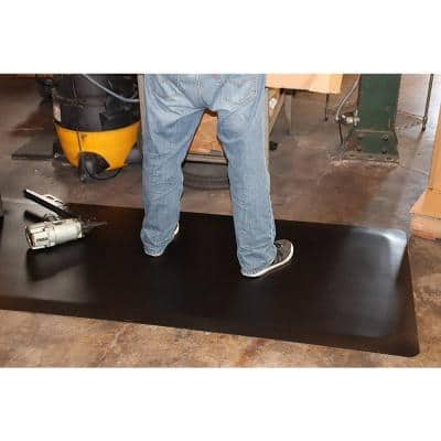 Industrial Smooth 2 ft. x 5 ft. x 1/2 in. Commercial Floor Mat Anti-Fatigue