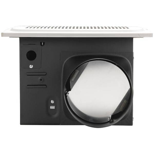 Hampton Bay 140 Cfm Ceiling Humidity Sensing Bathroom Exhaust Fan Energy Star 7136 02 The Home Depot