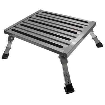 Adjustable Aluminum Platform Step
