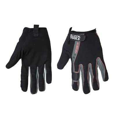 Journeyman Large Black High Dexterity Touchscreen Gloves