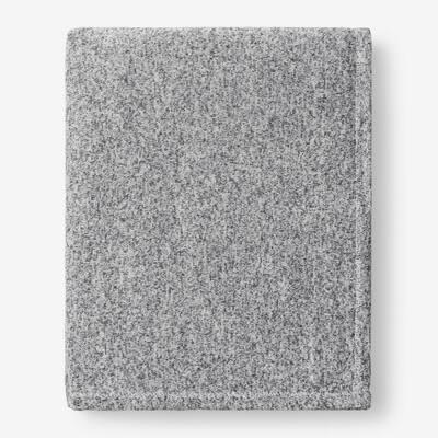 Sweatshirt Knit Koala Gray Twin Reversible Blanket