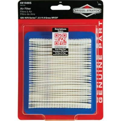 Air Filter for 3.5 Through 6.75 HP Quantum Engines and 625-1575 Series Engines