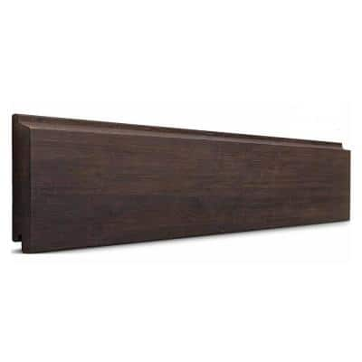 1 in. x 6 in. x 6 ft. Dasso XTR Classic Espresso Fused Bamboo Rain Clad Shiplap Siding (3-Pack)