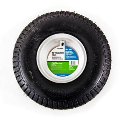20 in. x 8 in. Rear Tractor Wheel for John Deere, Ariens, Husquvarna and Poulan Pro Lawn and Garden Tractors