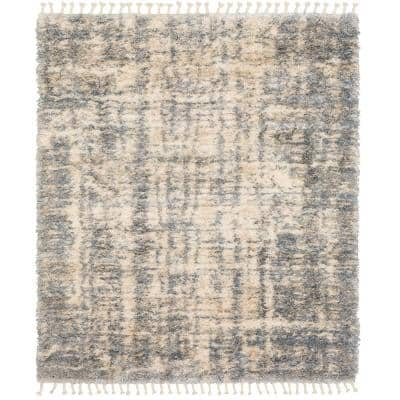 Tempo Grey 8 ft. x 10 ft. Indoor Area Rug