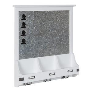 Stallard White Multi Function Magnetic Memo Board