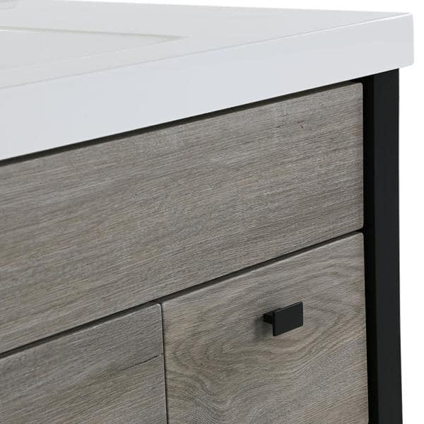 Home Decorators Collection Greyford 49 In W X 22 In D Bath Vanity In White Washed Oak With Cultured Marble Vanity Top In White With White Sink Gd48p2v1 Wo The Home Depot