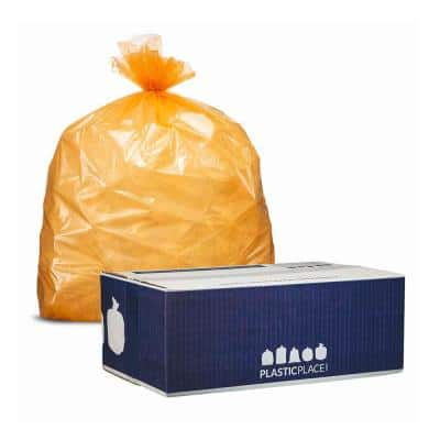 40-45 Gal. Orange Trash Bags (Case of 100)