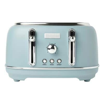 Blue Pop Up Toasters Toasters The Home Depot