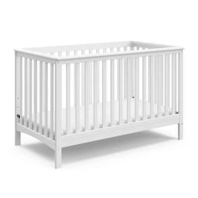 Hillcrest 4-in-1 Convertible Crib-White