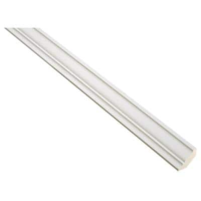 Westfield Light Feather White 3/4 in. x 8 ft. Crown Molding