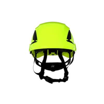 SecureFit Vented HVGreen Suspension Safety Helmet (Case of 10)