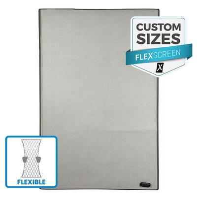 FlexScreen Custom Pre-Framed Window Screen Replacement