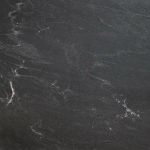 3 in. x 3 in. Granite Countertop Sample in Black Mist Antiqued