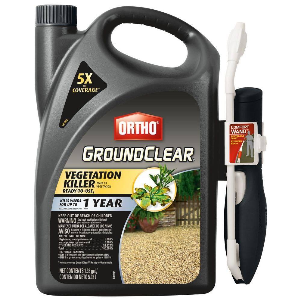 Ortho GroundClear 1.33 Gal. Vegetation Killer Comfort Wand