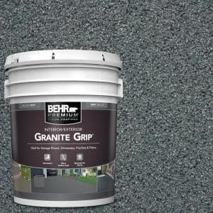 5 gal. #GG-01 Slate Ivory Decorative Flat Interior/Exterior Concrete Floor Coating