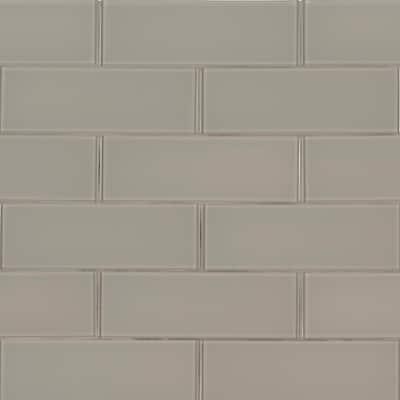 4x12 Glass Tile Tile The Home Depot