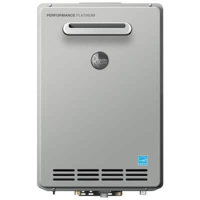 Performance Platinum 9.0 GPM Natural Gas High Efficiency Outdoor Tankless Water Heater