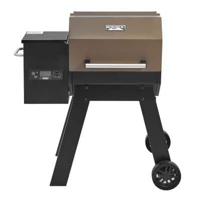 Pellet Grill With Mechanical Control