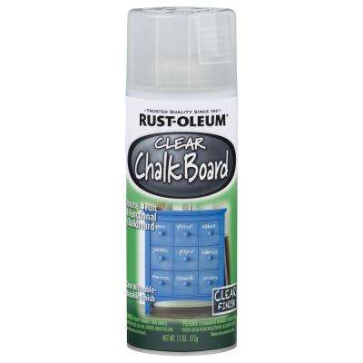 11 oz. Chalkboard Flat Clear Spray Paint