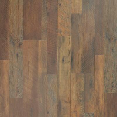 8 mm Mountain Oak Laminate Flooring - 5 in. x 7 in. Take Home Sample