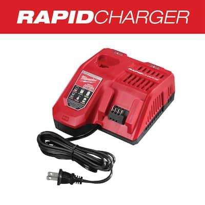 M12 and M18 12-Volt/18-Volt Lithium-Ion Multi-Voltage Rapid Battery Charger