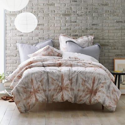 Cstudio Home Tie Dye Organic Cotton Percale Comforter Set