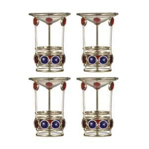 5.25 in. Pietro 4-Piece Candle Holder Set