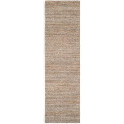 Cape Cod Gray/Sand 2 ft. x 8 ft. Abstract Runner Rug