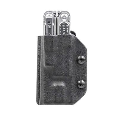 Kydex Multitool Sheath for Leatherman Free P2 Multi-Tool Holder Belt Holster Cover EDC (Black)
