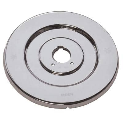 Chateau 7 in. Dia Escutcheon for Single-Handle Tub and Shower Valves in Chrome