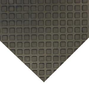 Maxx-Tuff 1/2 in. x 24 in. x 36 in. Black Heavy Duty Rubber Floor Protection Mat