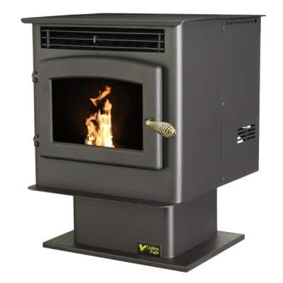 1,800 sq. ft. EPA Certified Pellet Stove with 45 lb. Hopper and Auto Ignition