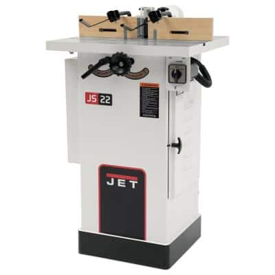 1.5 HP Woodworking Shaper with Interchangeable Spindle 115/230-Volt JWS-22CS