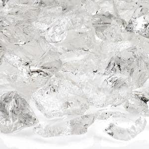 Ice Recycled Fire Pit Glass - Medium (18-28 mm) 10 lbs. Bag