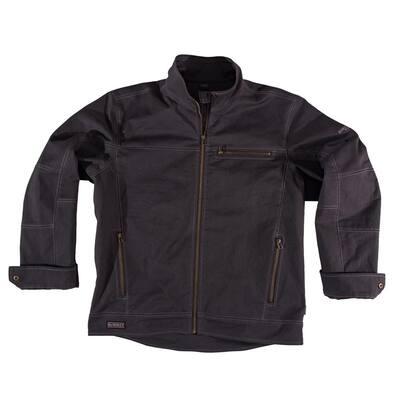 Lawton Men's Size 3X-Large Stone Cotton/Lycra Jacket