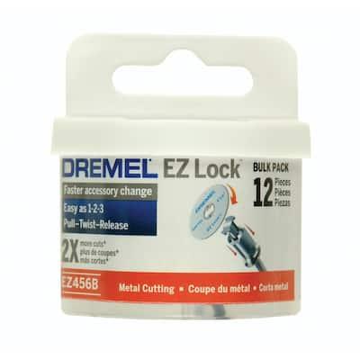 EZ Lock 1-1/2 in. Rotary Tool Metal Cut-Off Wheels for Metal (12-Pack)