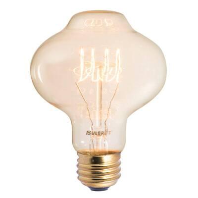 40-Watt BT27 Incandescent Light Bulb Medium Base (E26) Antique Nostalgic Thread 2200K (4-Pack)