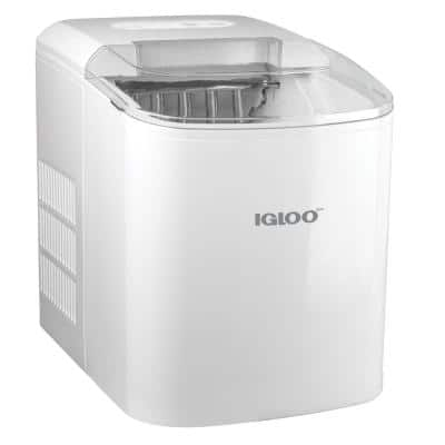 26-Pound Portable Ice Maker, White