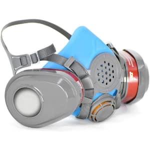 Half Face Reusable Respirator and Gas Mask
