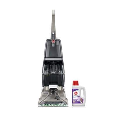Professional Series Turbo Scrub Carpet Cleaner Machine & 64 oz. Paws and Claws Pet Carpet Cleaner Solution Combo Kit