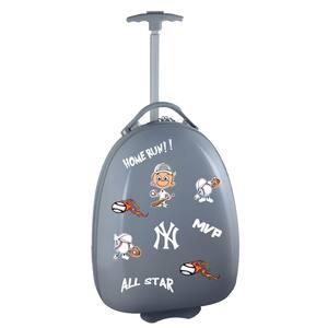 MLB New York Yankees Gray 18 in. Kids Pod Luggage