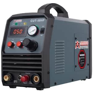 50 Amp 95-Volt to 260-Volt Wide Voltage Non-Touch Pilot Arc Plasma Cutter with 3/5 in. Clean Cut Cutting Machine