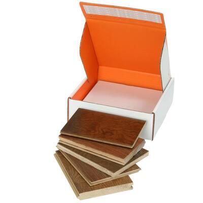 Medium Brown Hardwood Flooring Sample Bundle