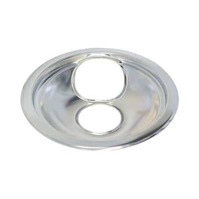 6 in. Universal Range Bowl in Chrome (6-Pack)