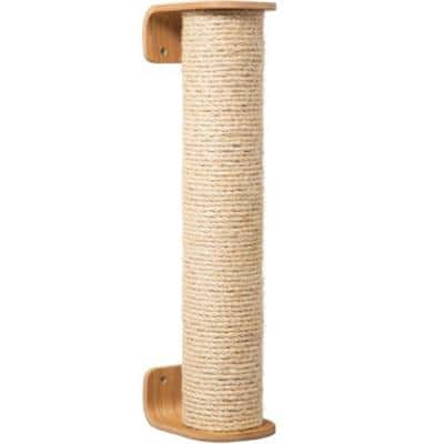MYZOO Cylinder Beige Extend Cat Scratcher and Scratching Post Furniture Cover