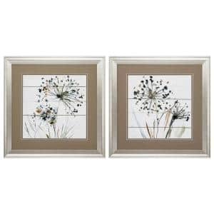 19 in. x 19 in. ''Natures Lace PK/2'' Framed Wall Art