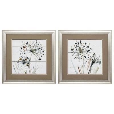 """19 in. x 19 in. """"Natures Lace PK/2"""" Framed Wall Art"""